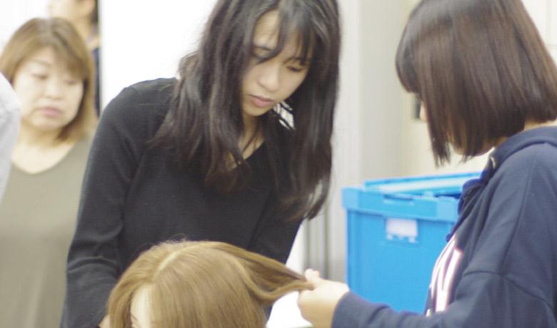 美容専門学校から先生がやってきた!