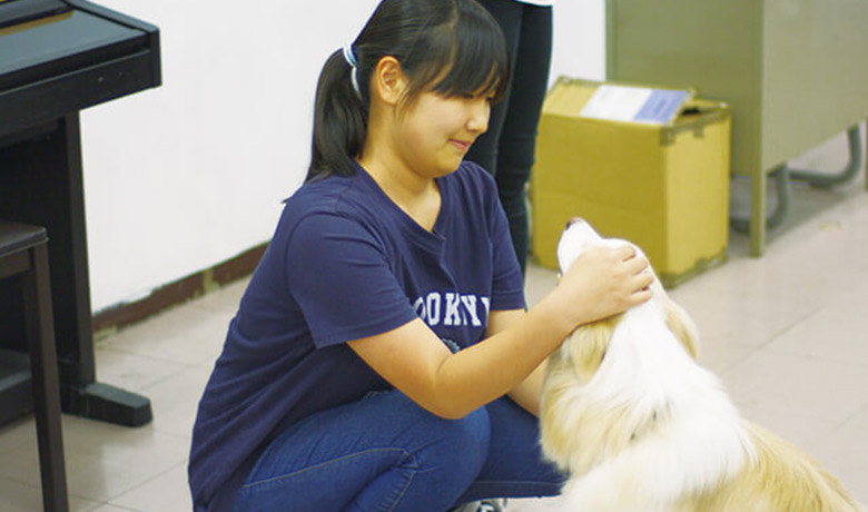 動物専門学校からの出張授業!